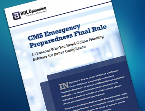FREE WHITE PAPER: CMS Emergency Preparedness Final Rule – Why You Need Online Software for Better Compliance-Download