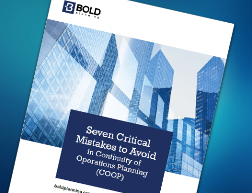 FREE WHITE PAPER: Seven Critical Mistakes to Avoid in Continuity of Operations Planning (COOP)-Download