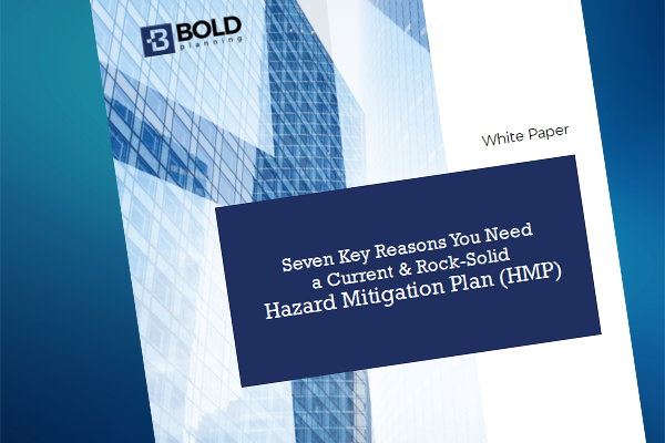 FREE WHITE PAPER: Seven Key Reasons You Need a Current & Rock-Solid Hazard Mitigation Plan
