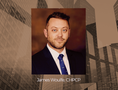 BOLDplanning Project Manager, James Woulfe, Earns CHPCP Certification