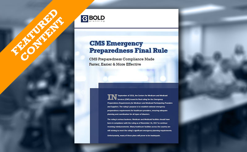 CMS Preparedness White Paper