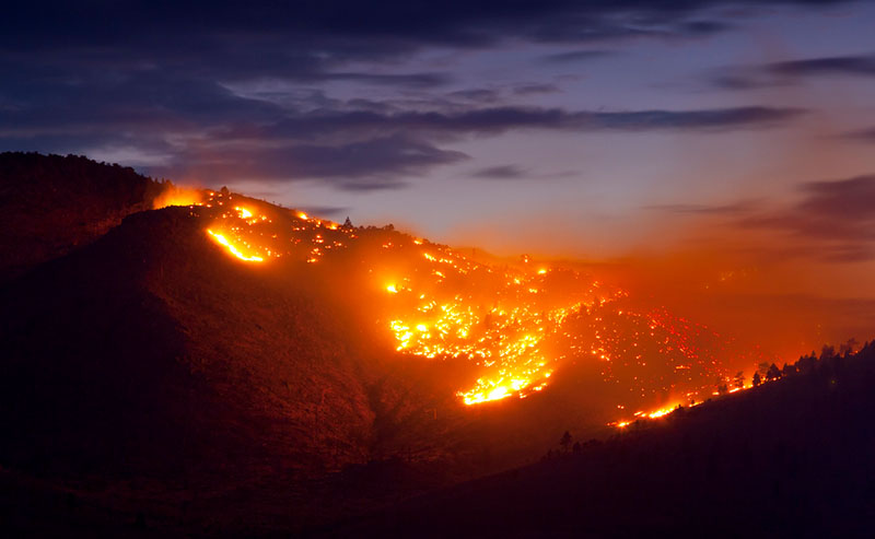 Wildfires Continue their Rampage across Multiple States