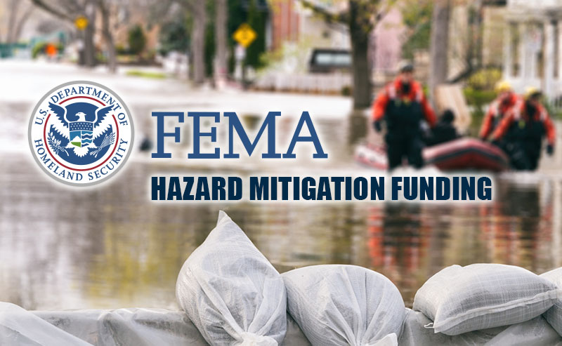 FEMA announces new PDM and FMA grant funds.