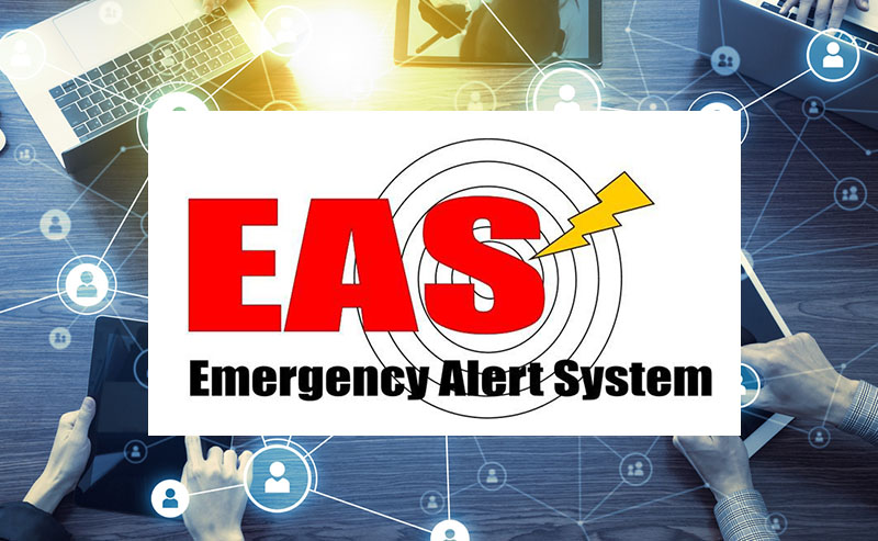 National Test of Integrated Public Alert and Warning System (IPAWS) is Thursday, September 20, 2018