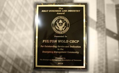 Fulton Wold Wins EMAT Award