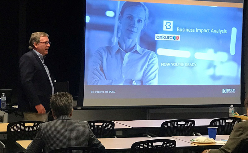 BOLDplanning and Ankura Consulting Address Middle Tennessee Chapter of the Association of Continuity Professionals (ACP)