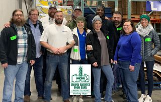 BOLDplanning Helps Pack Food for Second Harvest Food Bank