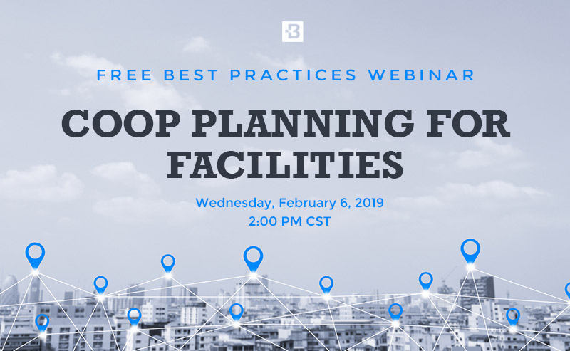 COOP Planning for Facilities Webinar