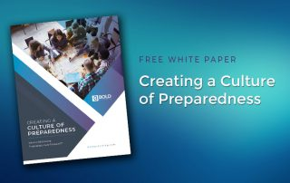 Culture of Preparedness Paper Released