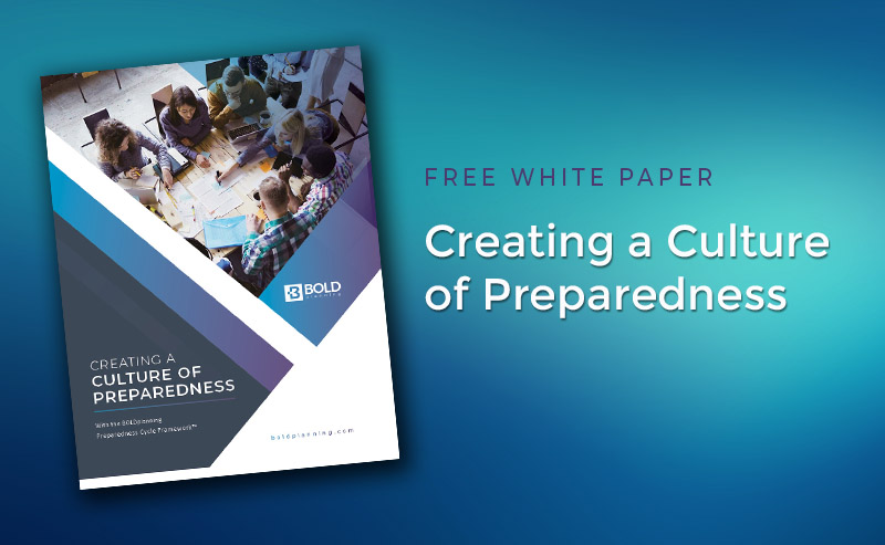 Featured Resource: Creating a Culture of Preparedness with the Preparedness Cycle FrameworkTM