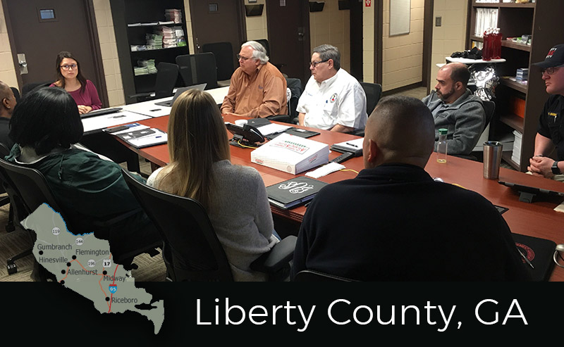 Liberty County Begins HMP Update
