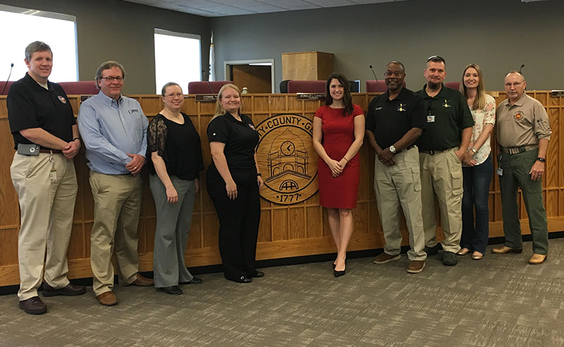 BOLDplanning Holds Official Kick-off Meeting with Liberty County, Georgia and State Officials to Update County's Hazard Mitigation Plan
