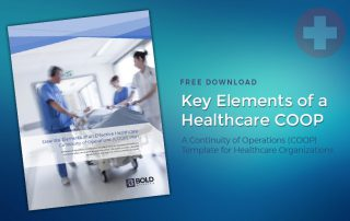 Essential Elements of a Healthcare Continuity of Operations (COOP) Plan Download