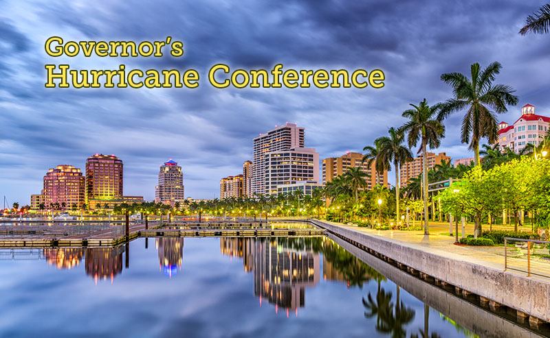 Governor's Hurricane Conference Kicks off in West Palm Beach, Florida