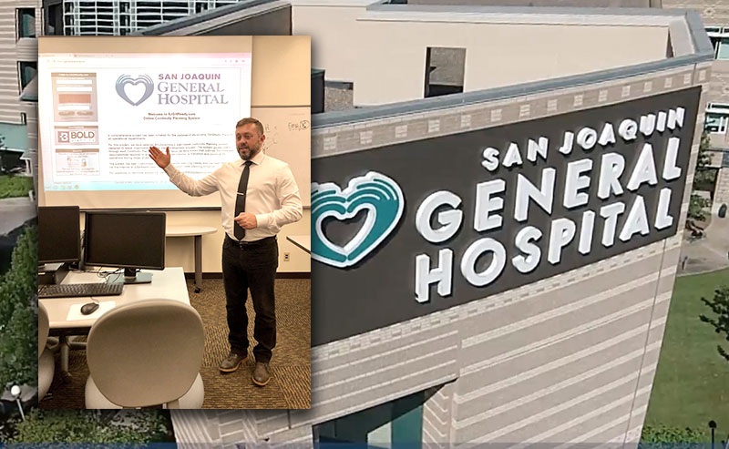 BOLDplanning Returns to California's Central Valley for Mid-Term COOP Workshops at San Joaquin General Hospital