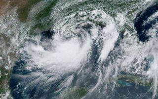 Hurricane Barry hits Louisiana Coast