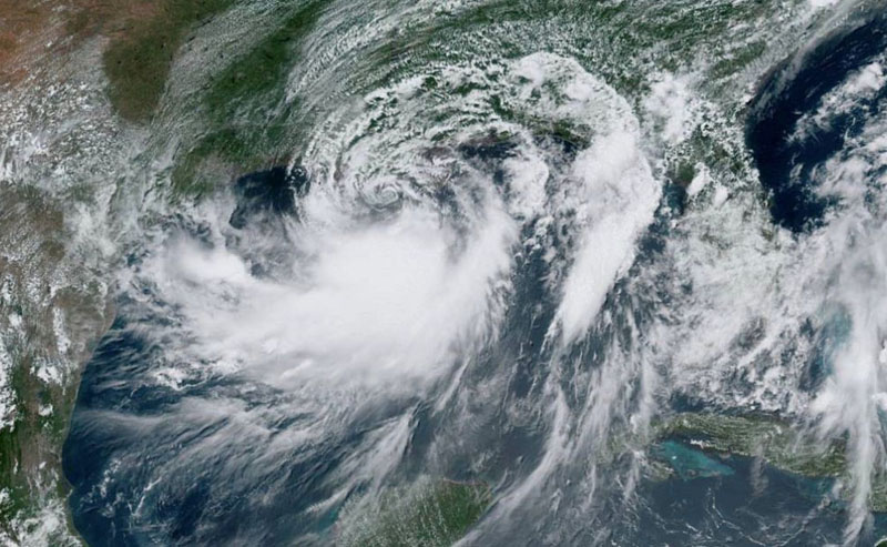 Hurricane Barry hits Louisiana Coast