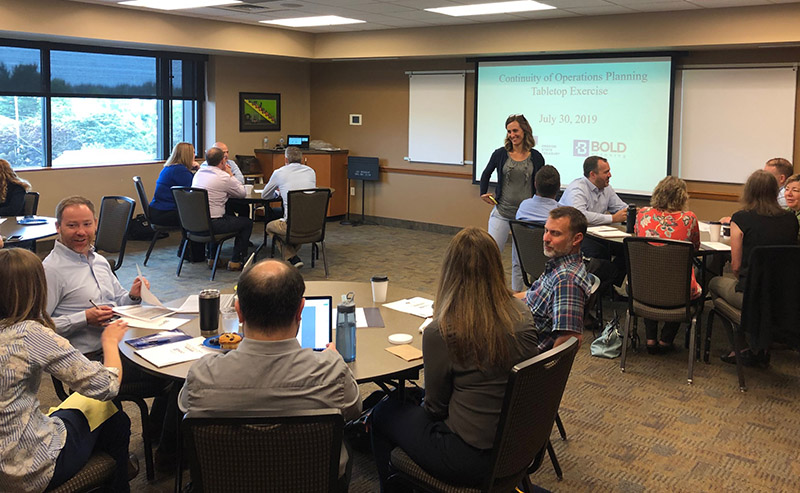 BOLDplanning Facilitates COOP Tabletop Exercise for Oregon State Treasury