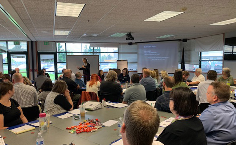 Marion County, Oregon Conducts Successful COOP Tabletop Exercise