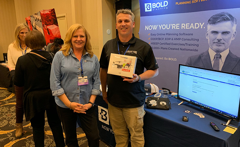 BOLDplanning Drone Winner is Flying High After OEMA Conference 2019
