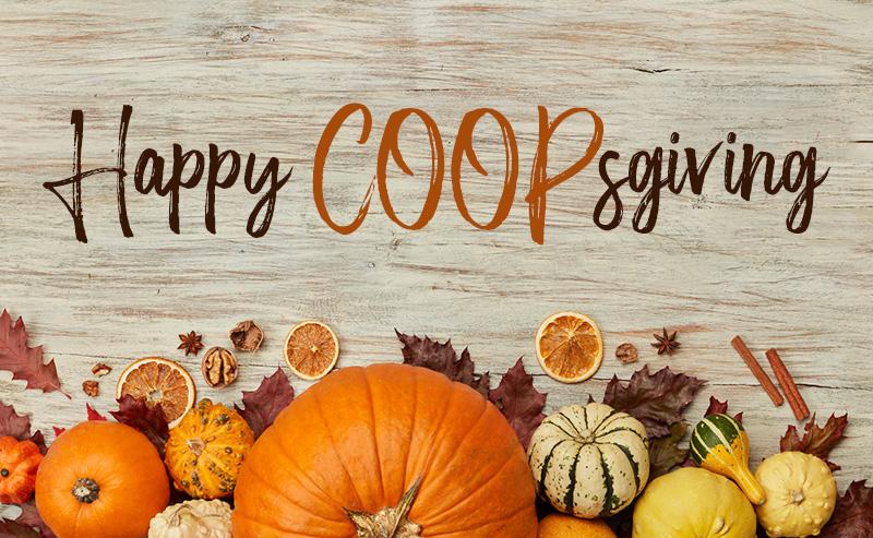 Happy COOPSgiving