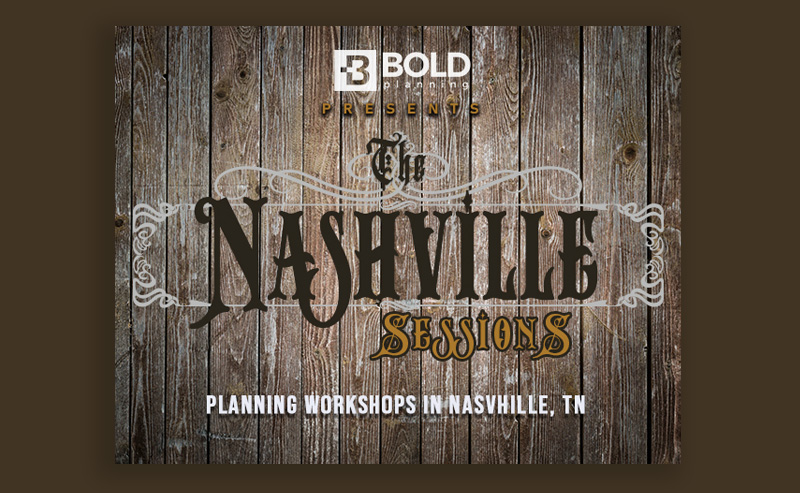 BOLDplanning Workshops in Nashville TN
