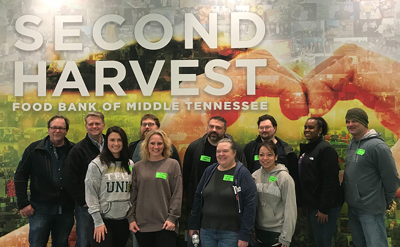 BOLDplanning Gives Back, Packs Meals at Second Harvest Food Bank of Middle Tennessee
