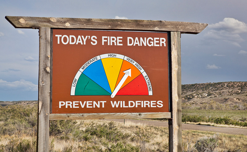 Just Released Drought Outlook Data Unfavorable for Wildfire Season, Preparedness Is Key